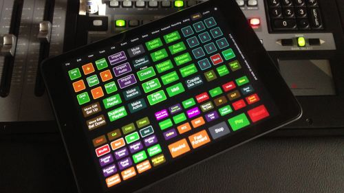 Protools 12 Shortcuts on iPad.